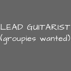 SLASH / LEAD GUITARIST (groupies wanted)