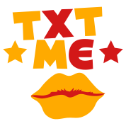 txt me with lips