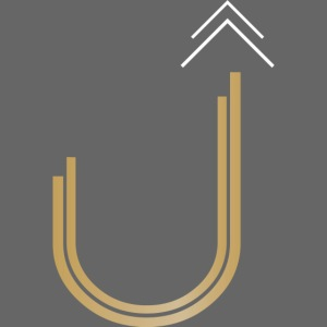 UltiUber Life Logo with White Arrows