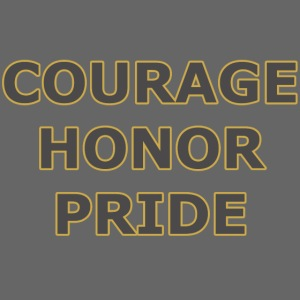 courage honor pride