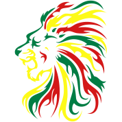 Reggae Lion Tribal 3c