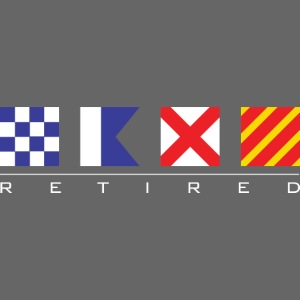 N - A - V - Y Retired Signal Flags