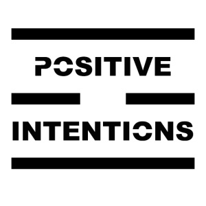 Positive Intentions Black Letters
