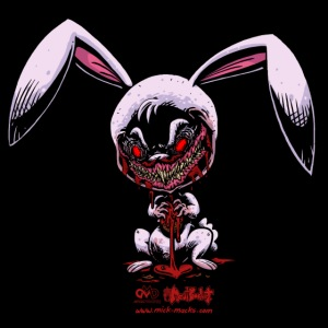 Cute Creepy Bunny
