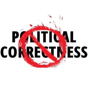 POLITICAL CORRECTNESS (restricted symbol over)