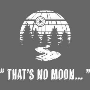 """"""" That's No Moon... """""""