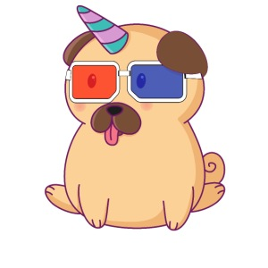Dog with 3D glasses doing Vision Therapy!