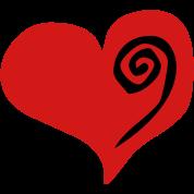 heart swirl (vector)