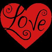 Gladditudes Valentine Love Heart