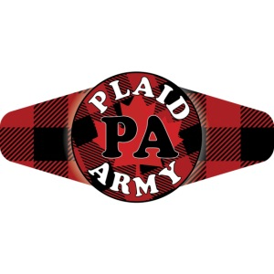 Plaid Army mask