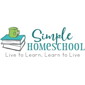Simple Homeschool Logo with Motto