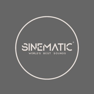 Logo Sinematic White on Black
