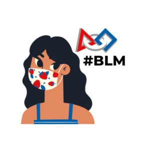 #BLM FIRST Girl Supporter