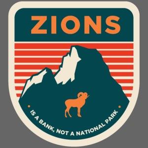 """""""Zions"""" Prank Badge"""
