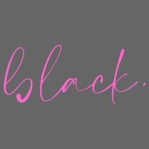 black tee pink2