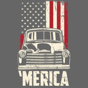 1949 Chevy Truck Merica Mens T-shirt