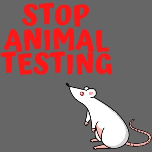 STOP ANIMAL TESTING - Defenseless Laboratory Mouse