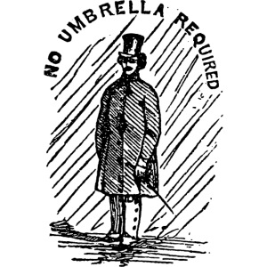 no umbrella requiered