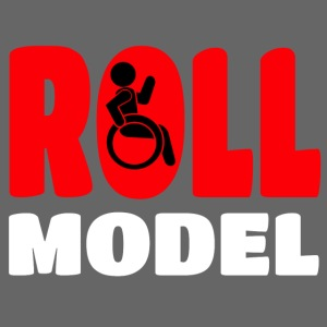 This wheelchair user is also a roll model