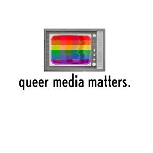 Queer Media Matters TV Logo in Black
