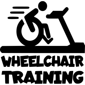 Wheelchair training for lazy wheelchair users