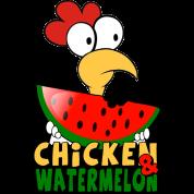 Chicken & watermelon