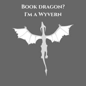 Book dragon? I'm a Wyvern (white)