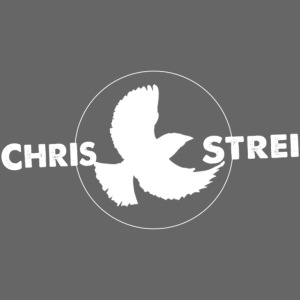 Chris Strei BlackBird Logo (white)
