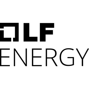 LF Energy White Logo Stacked