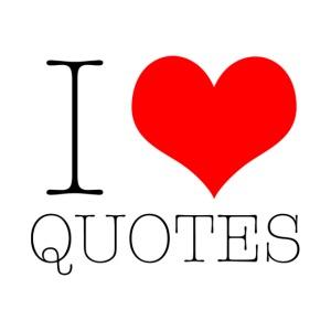 Black I Heart Quotes