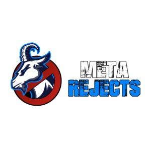 Meta Rejects Text Logo