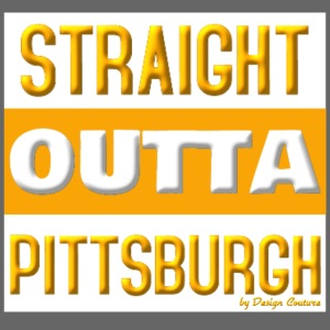 STRAIGHT OUTTA PITTSBURGH ORANGE