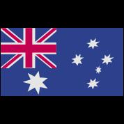australian flag rough