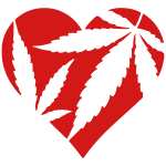 Marijuana Heart / Cannabis Love