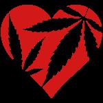 Marijuana Heart / Cannabis Love