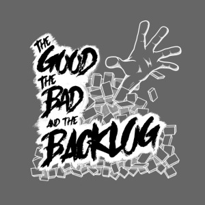The Good, the Bad, and the Backlog - White logo