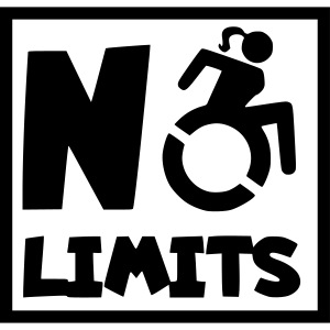 No limits for this female wheelchair user