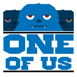 one of us blue png