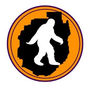 Bigfoot in the Blue Line Sticker