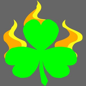 Burning Shamrock
