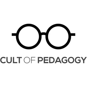 Cult of Pedagogy (black text)