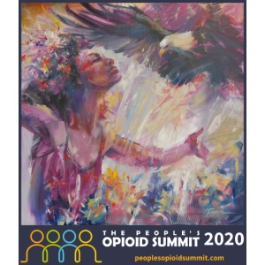 The People's Opioid Summit Commemorative Painting