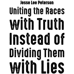 Uniting the Races with Truth - Black Text