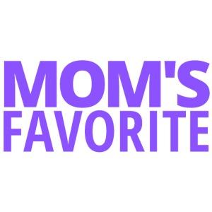 Mom's Favorite (in purple letters)