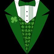 Leprechaun Tuxedo Green St Patricks Day