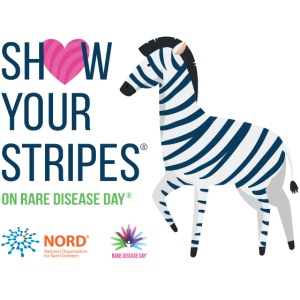 Show Your Stripes for Rare Disease Day!