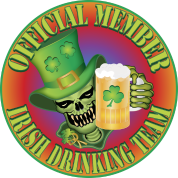 Irish Drinking Skull
