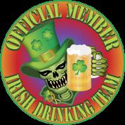 Irish Drinking Skull