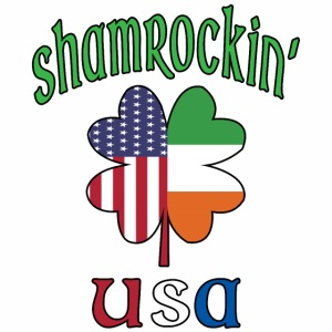 Shamrock USA Good Luck Four Leaf Clover St Paddy's
