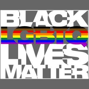 Black LGBTQ Lives Matter - Philly Pride Flag